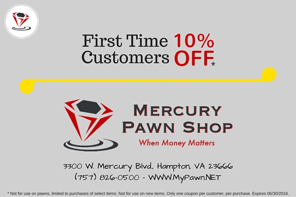 Hampton Pawn Shop Coupon